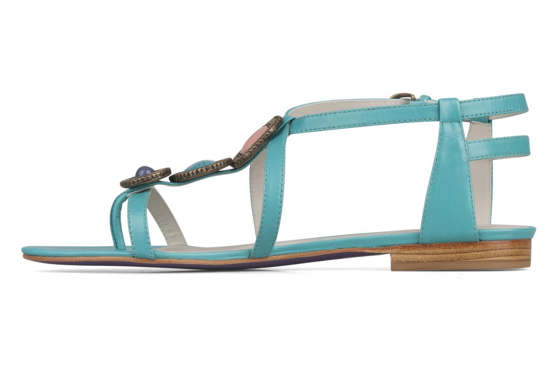 Sandales et nu-pieds Miezko Katilia Bleu vue face