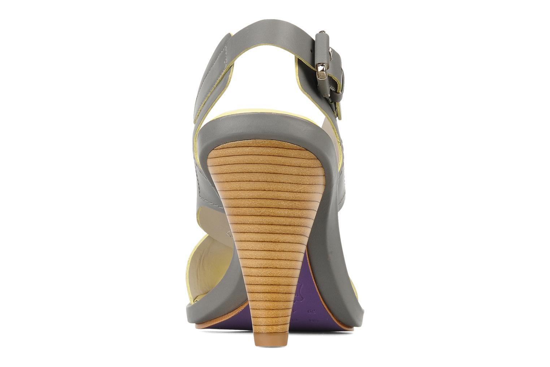 Sandali e scarpe aperte Miezko Hugalia Marrone immagine destra