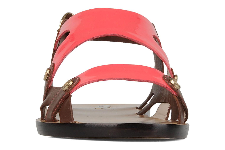 Sandales et nu-pieds Miezko Fluota Marron vue portées chaussures