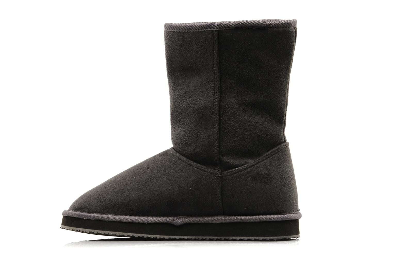 Bottines et boots Buffalo Delfina Gris vue face