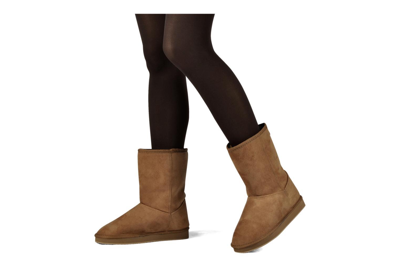 Bottines et boots Buffalo Delfina Marron vue bas / vue portée sac
