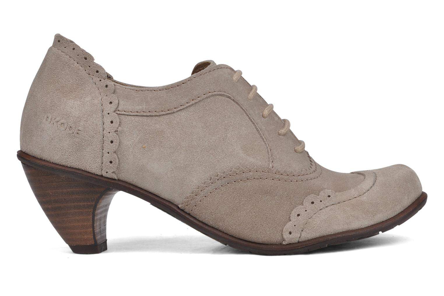 Lace-up shoes Dkode Victoria Grey back view