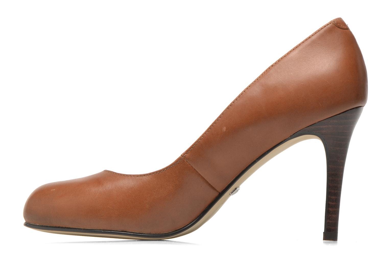 High heels Buffalo Klist Brown front view