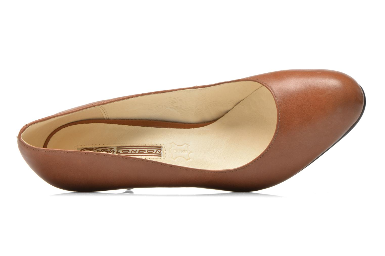 Zapatos de tacón Buffalo Klist Marrón vista lateral izquierda