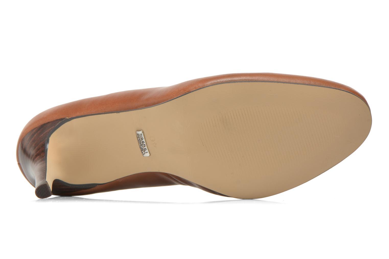 High heels Buffalo Klist Brown view from above
