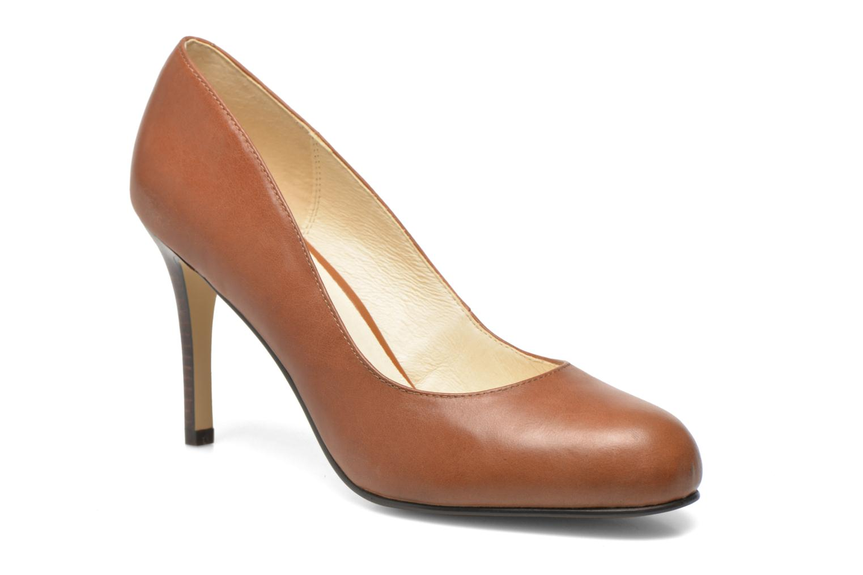 High heels Buffalo Klist Brown detailed view/ Pair view