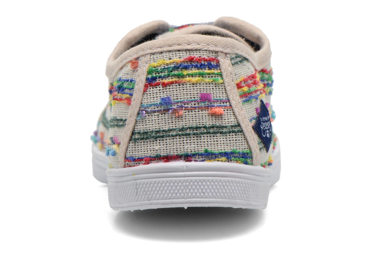 Baskets Le temps des cerises Basic 02 Multicolore vue droite