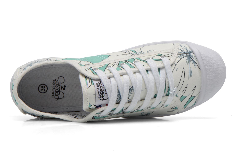 Sneaker Le temps des cerises Basic 02 mehrfarbig ansicht von links