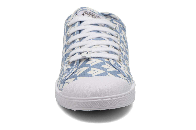 Baskets Le temps des cerises Basic 02 Multicolore vue portées chaussures