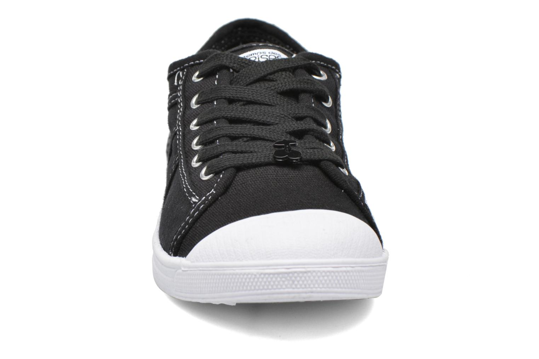 Sneaker Le temps des cerises Basic 02 schwarz schuhe getragen