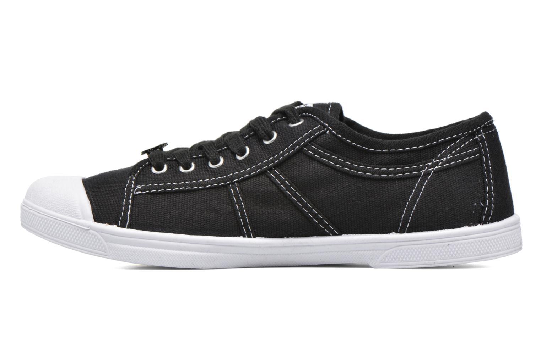 Sneaker Le temps des cerises Basic 02 schwarz ansicht von vorne