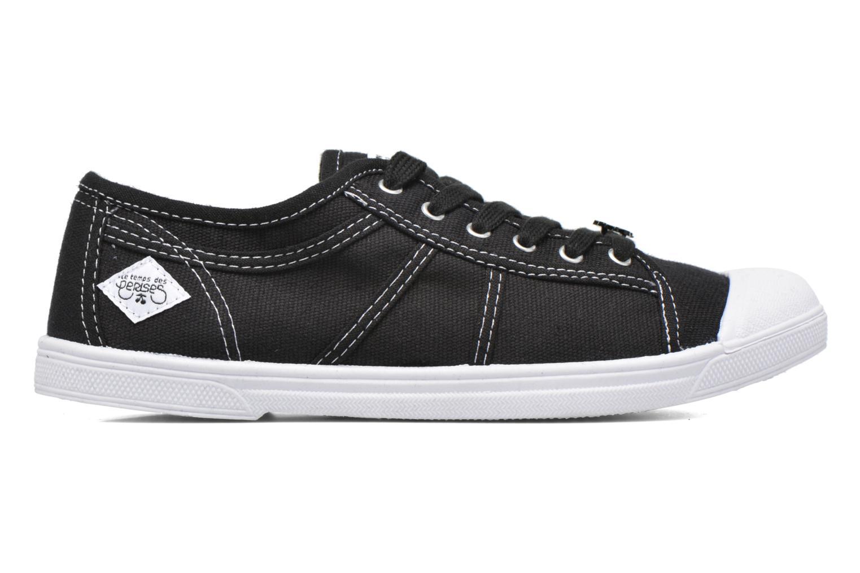 Sneaker Le temps des cerises Basic 02 schwarz ansicht von hinten
