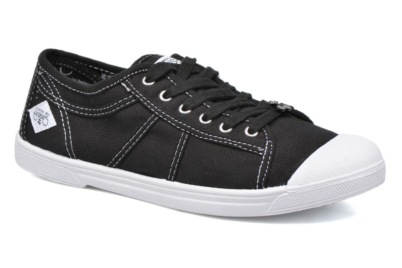 Sneaker Le temps des cerises Basic 02 schwarz detaillierte ansicht/modell