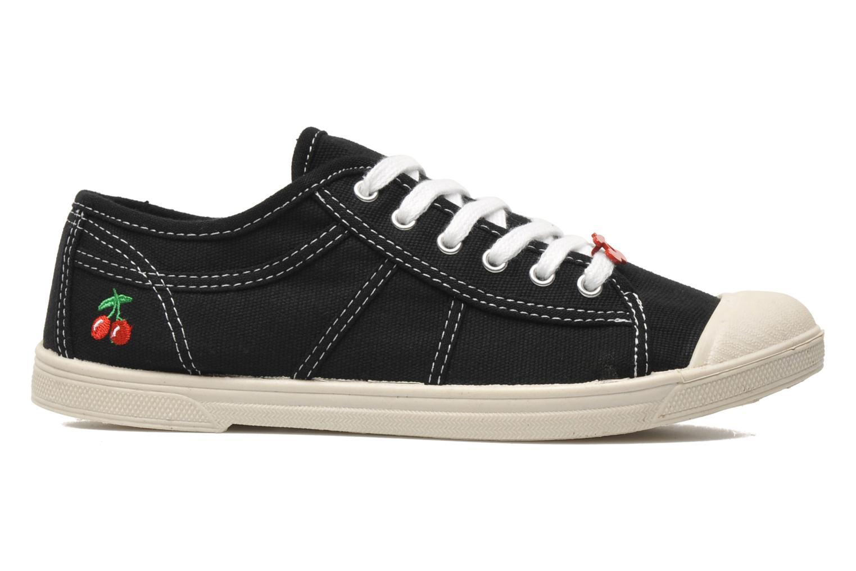 Sneakers Le temps des cerises Basic 02 Zwart achterkant