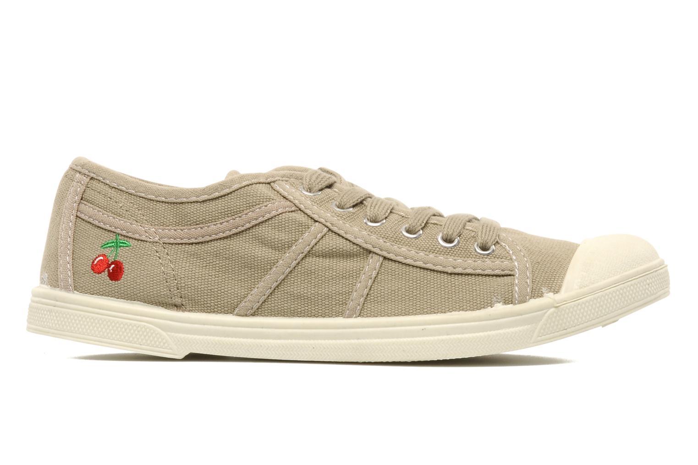 Sneaker Le temps des cerises Basic 02 beige ansicht von hinten