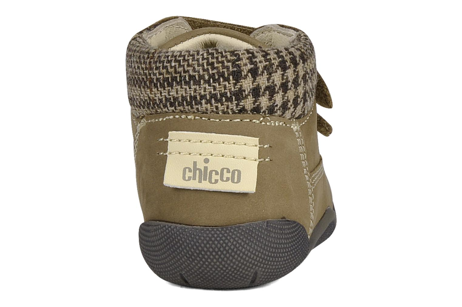Velcro shoes Chicco Guapito Brown view from the right