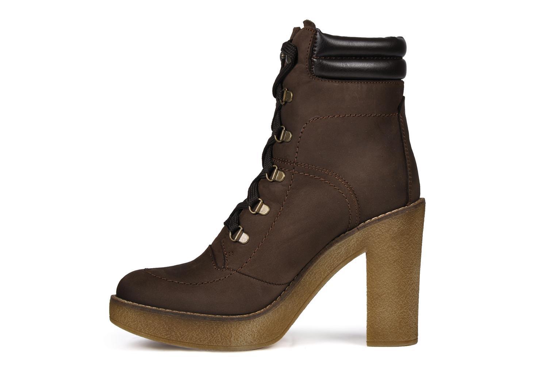 Boots en enkellaarsjes Jonak Galina Bruin voorkant