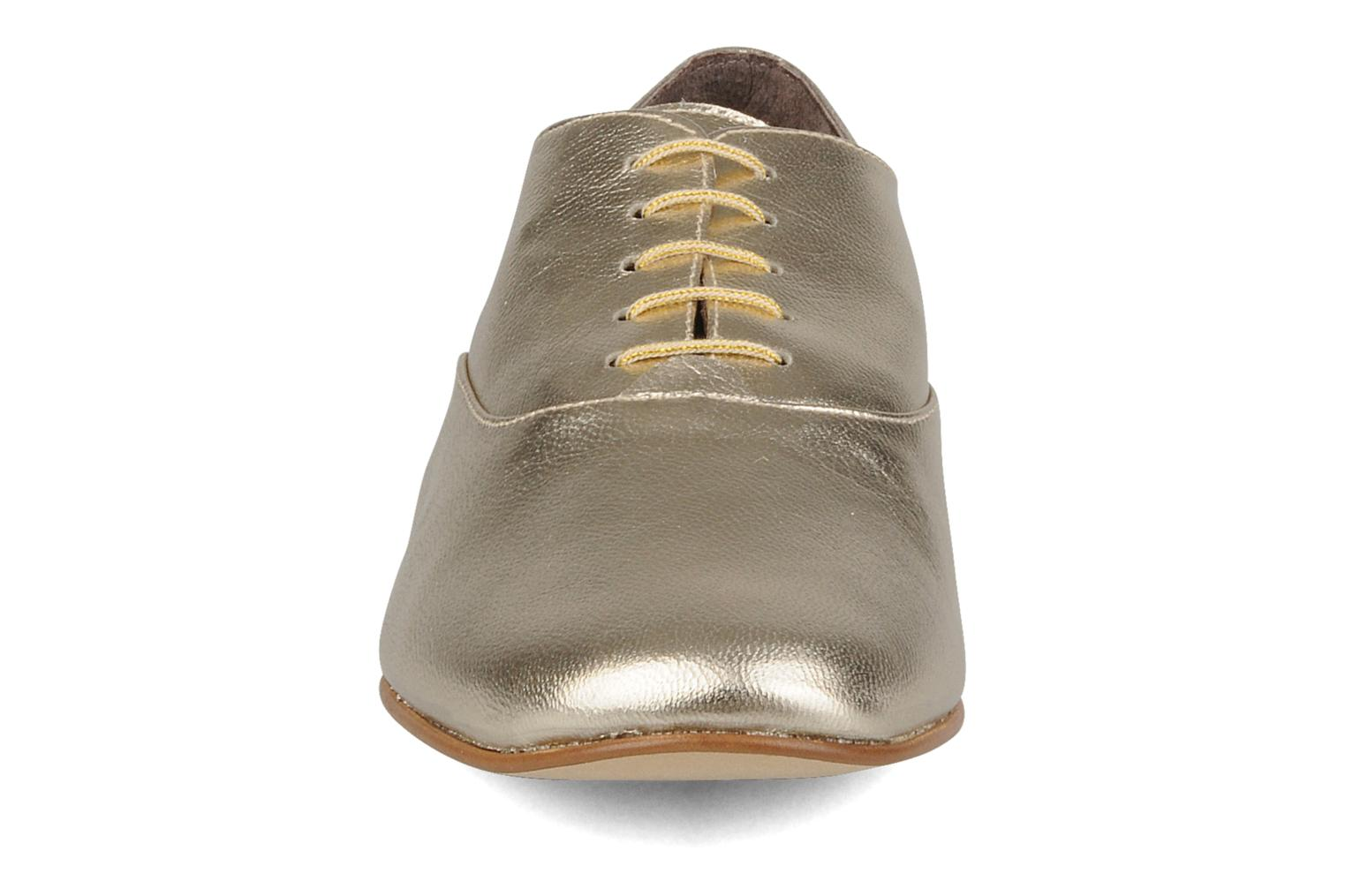 Lace-up shoes Emma Go Juddy Bronze and Gold model view