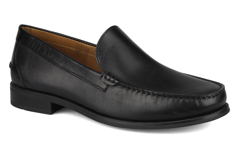 Loafers Geox U dario b Black detailed view/ Pair view