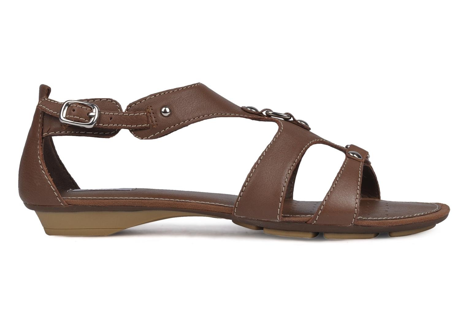 Sandals Geox D felisa b Brown back view