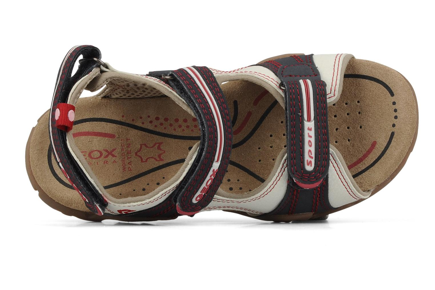 Sport shoes Geox J s.safari m White view from the left