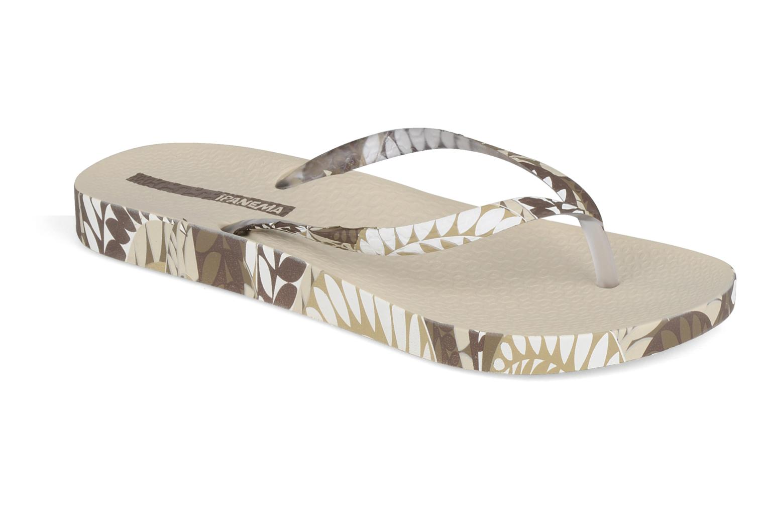 Tongs Ipanema Anatomic fashion f. Beige vue détail/paire