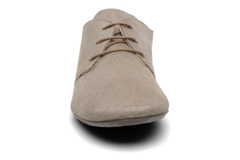 Chaussures à lacets Jonak Dacklo Beige vue portées chaussures