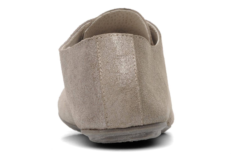 Chaussures à lacets Jonak Dacklo Beige vue droite