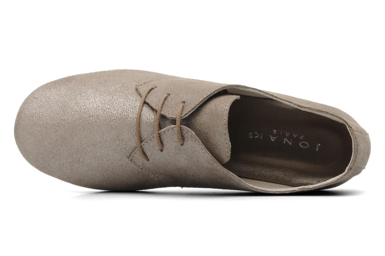 Chaussures à lacets Jonak Dacklo Beige vue gauche