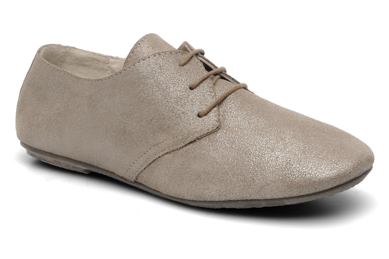 Chaussures à lacets Jonak Dacklo Beige vue détail/paire