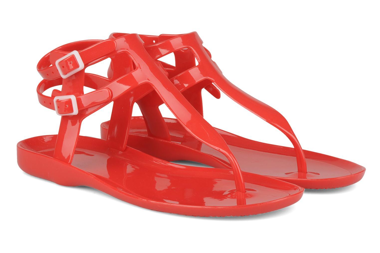 Sandales et nu-pieds Carvela Kink Rouge vue 3/4
