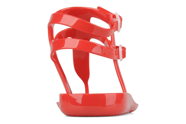 Sandales et nu-pieds Carvela Kink Rouge vue droite
