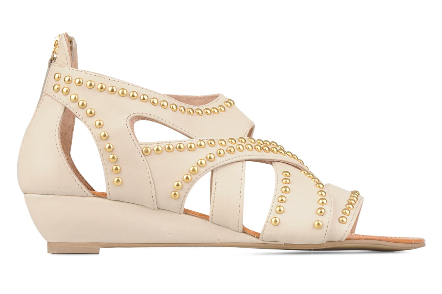 Sandals Carvela Kurly Beige back view