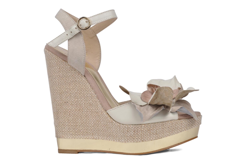 Sandales et nu-pieds Carvela Kuchina Blanc vue derrière