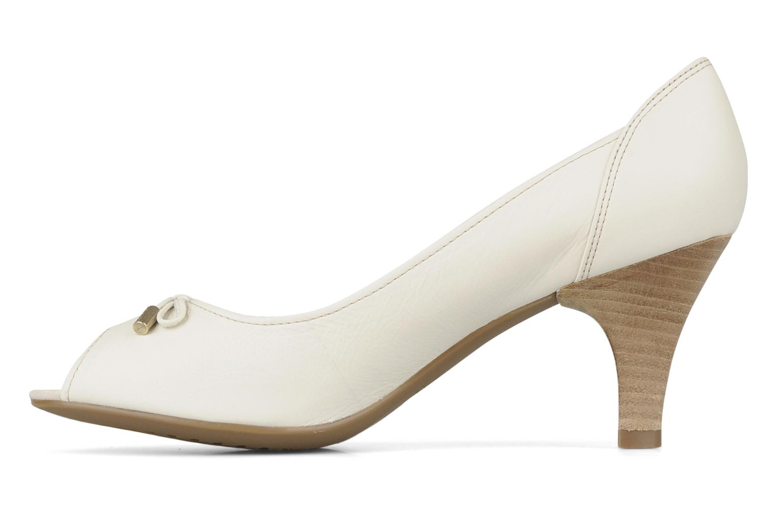 High heels Geox D cherie a White front view