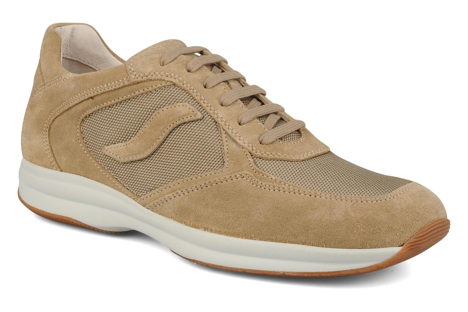 Trainers Stonefly Vision man 2 Beige detailed view/ Pair view