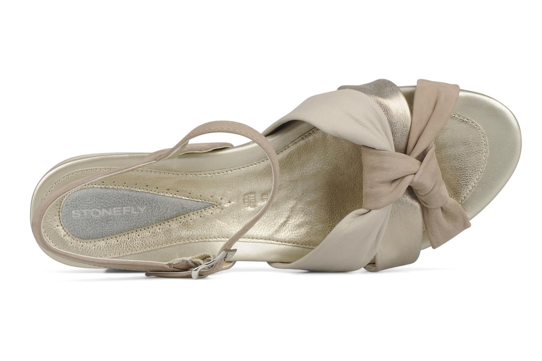 Sandali e scarpe aperte Stonefly Vanity 06 Beige immagine dall'alto