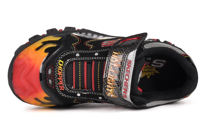 Sneakers Skechers Skx chopper Zwart links