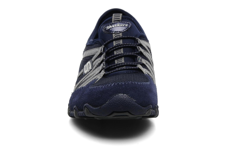 Sneaker Skechers Hot-ticket 21159 blau schuhe getragen