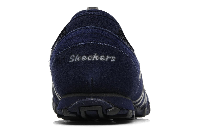 Deportivas Skechers Hot-ticket 21159 Azul vista lateral derecha