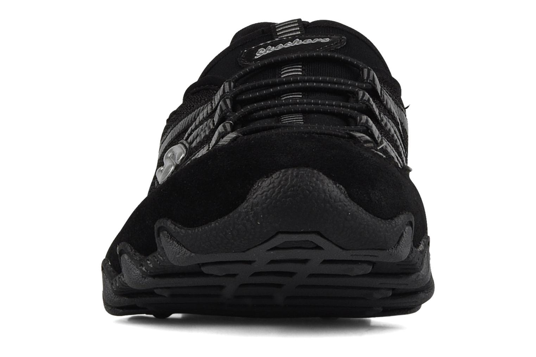 Sneaker Skechers Hot-ticket 21159 schwarz schuhe getragen
