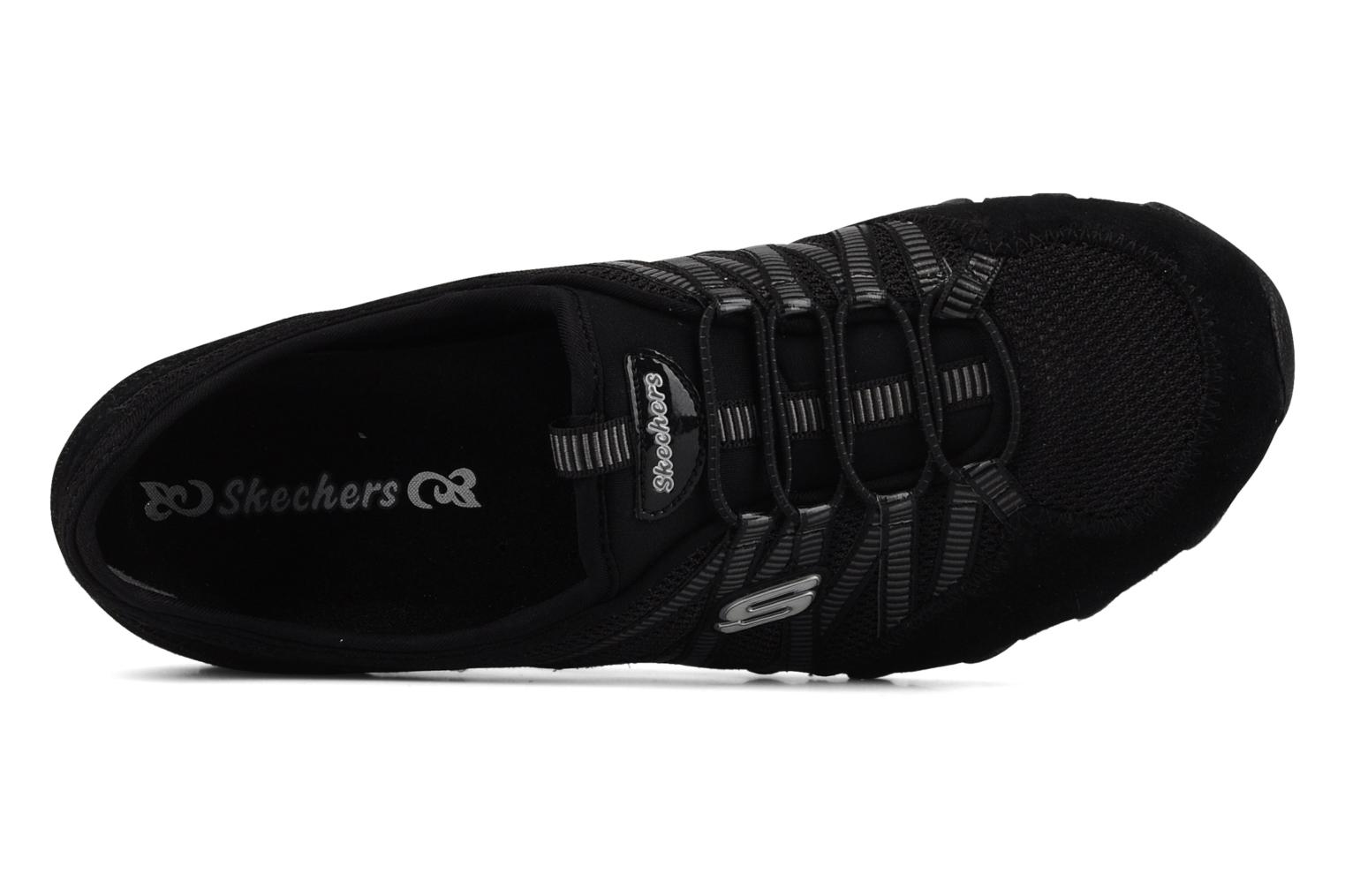 Trainers Skechers Hot-ticket 21159 Black view from the left
