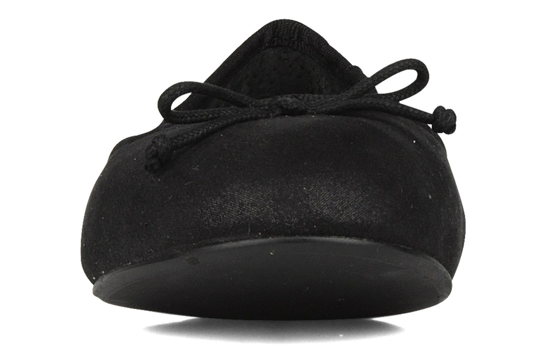 Ballerines Georgia Rose Fakita Noir vue portées chaussures