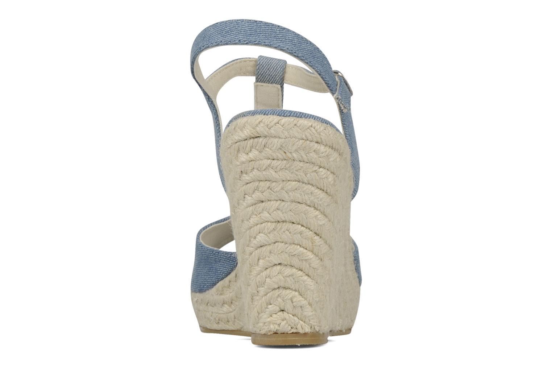 Sandales et nu-pieds Georgia Rose Uly Bleu vue droite