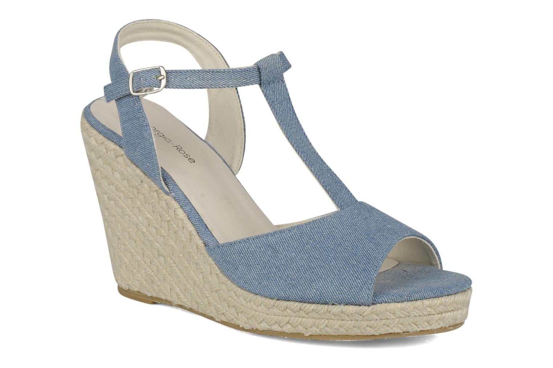 Sandales et nu-pieds Georgia Rose Uly Bleu vue détail/paire