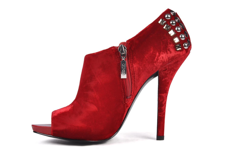 Boots en enkellaarsjes Guess Trynt Rood voorkant