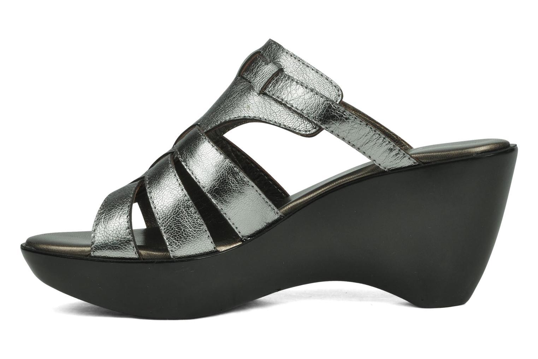 Sandales et nu-pieds Espace Angie Argent vue face
