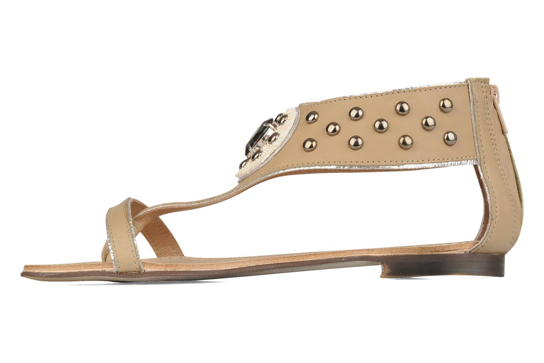 Sandales et nu-pieds Rosemetal Taylor Beige vue face