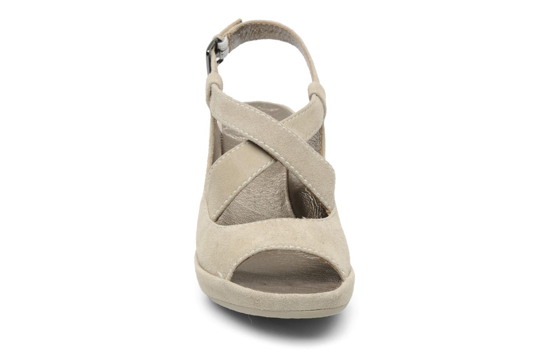 Sandales et nu-pieds Rosemetal Laney Beige vue portées chaussures