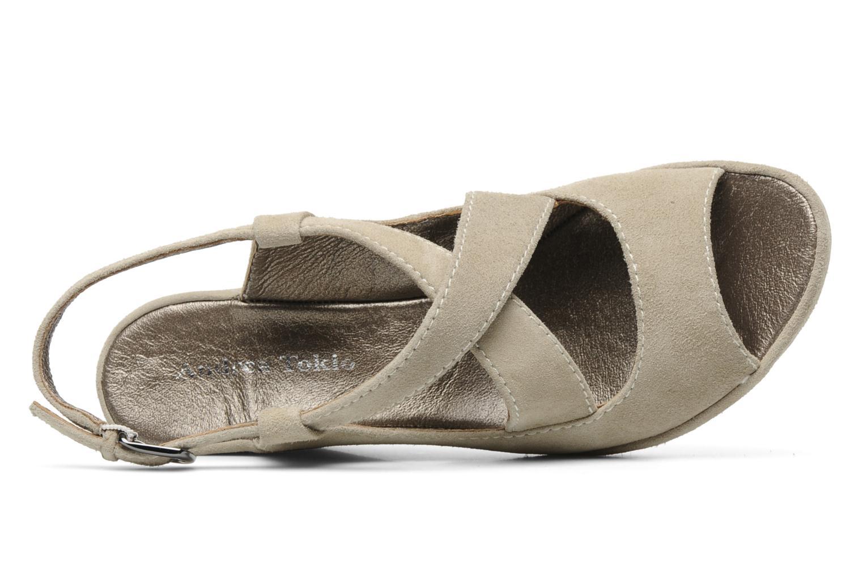 Sandales et nu-pieds Rosemetal Laney Beige vue gauche